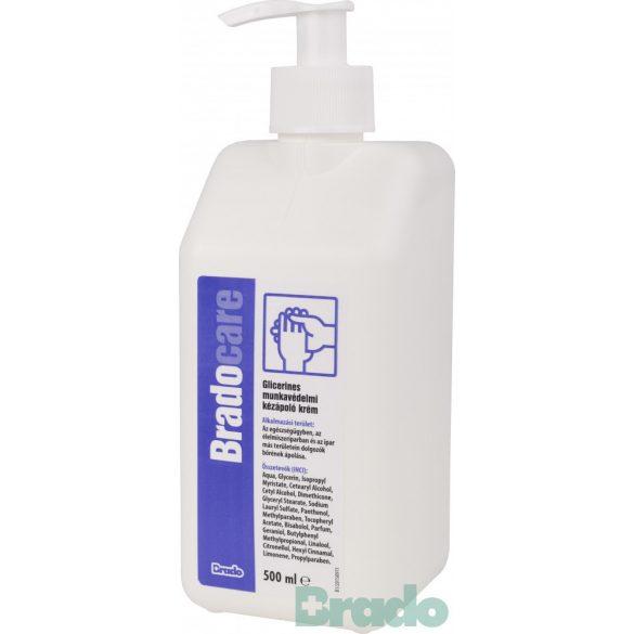 Bradocare glicerines kézápoló krém 500ml pumpás