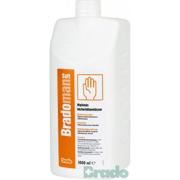 Bradoman soft higiénés kézfertőtlenítő szer 1000 ml