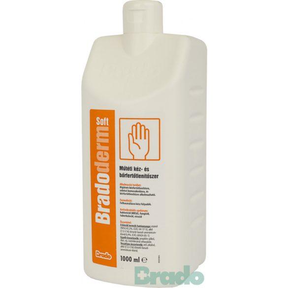 Bradoderm soft 1000ml műtéti kéz- és bőrfertőtlenítő