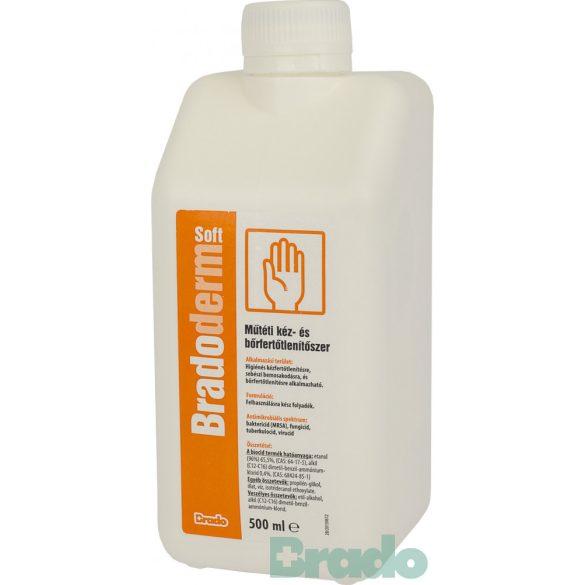 Bradoderm soft 500ml műtéti kéz- és bőrfertőtlenítő